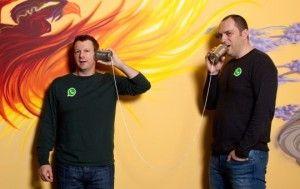 Jan Koum and Brian Acton: Founders of WhatsApp