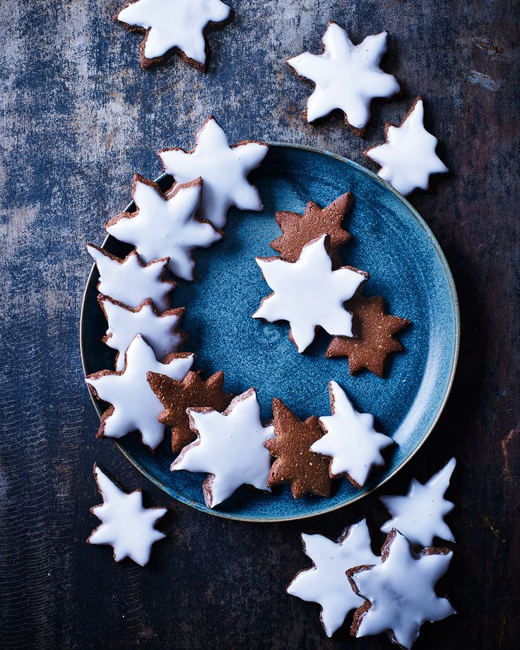 Lebkuchen is a traditional German Christmas recipe. These spice-laden star biscuits are full of festive flavours and undeniably moreish.