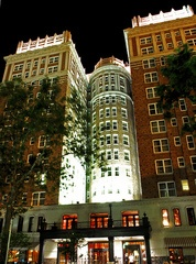 The Skrivin Hilton Hotel downtown OKC