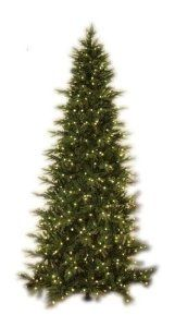 GKI Bethlehem Lighting Pre-Lit 9-Foot PE/PVC Christmas Tree with 700 Clear Mini  , Slim Palisade by GKI Bethlehem Lighting. $351.69. Measures 57 inches in diameter by 9 feet tall; 10-year limited warranty. 700 UL-listed, locked-in clear mini lights stay lit even with 1 or more non-functioning bulb. PE/PVC construction; heavy-duty wire branches; sturdy metal stand and base. Artificial 9-foot pre-lit Christmas tree with subtle layers, brown branch cores, and 2,473 tips. Fl...