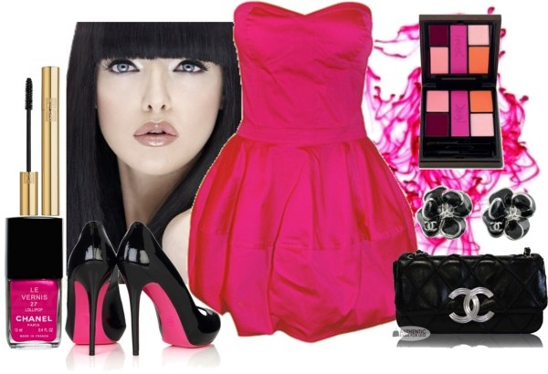 """""""Fucsia Explotation"""" by gl0ry on Polyvore"""
