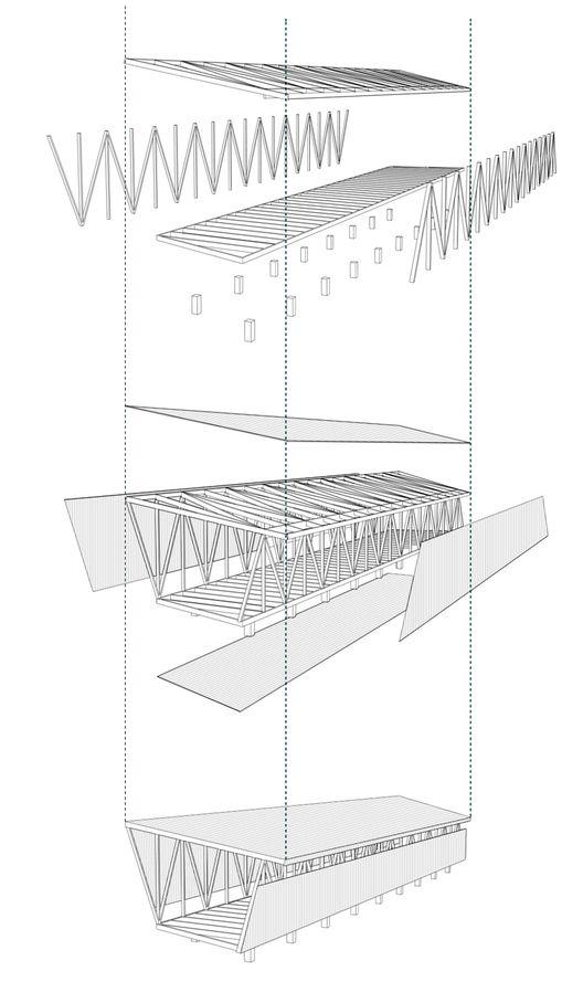M s de 25 ideas incre bles sobre pasarela plataforma de for Alquiler chiringuito madera