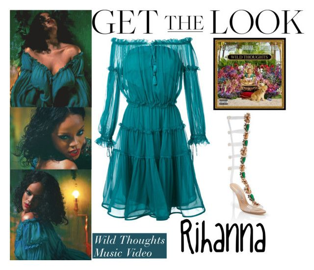 Rihanna Wild Thoughts Music Video June 16 2017 Clothes