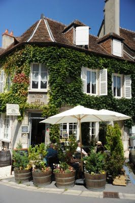 Sancerre.  Beautiful! Lovely vines. Great food. Town in the midst of famous vineyards such as