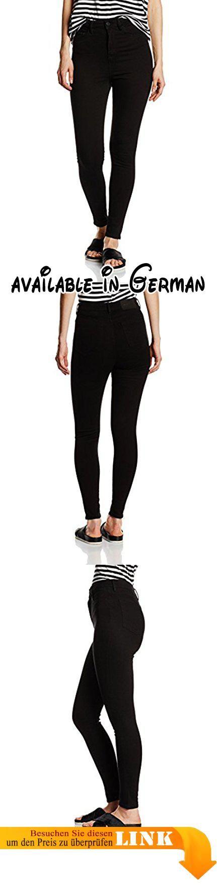 Wåven Damen Skinny Jeans Anika, schwarz(true Black)  - W30/L30 (Hersteller Größe:12).  #Apparel #PANTS