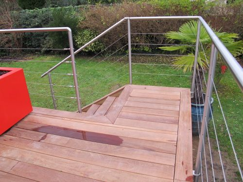 9 best terrasses images on Pinterest Wooden decks, Decks and Arbors - Couler Une Dalle Beton Exterieur