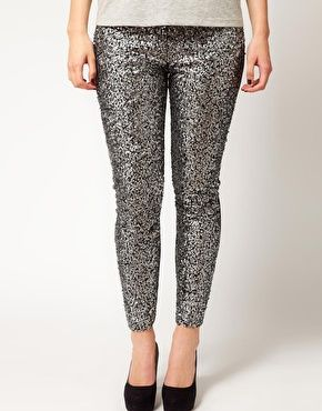 Words can't describe how disappointed I am that these plus size sequin leggings are sold out.