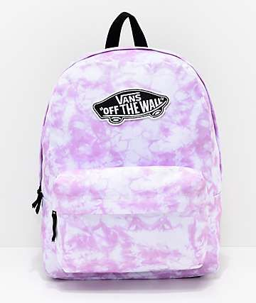 e3bab255d9 Vans Sporty Realm Violet Cloudwash Backpack in 2019