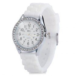 SHARE & Get it FREE | WL Candy Colors Ladies Quartz Watch with Round Dial Rubber BandFor Fashion Lovers only:80,000+ Items • New Arrivals Daily • Affordable Casual to Chic for Every Occasion Join Sammydress: Get YOUR $50 NOW!
