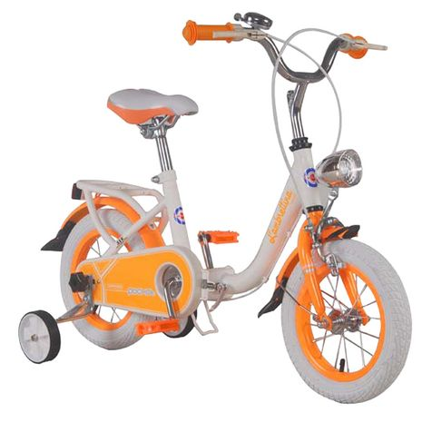 Vehicule pentru copii :: Biciclete si accesorii :: Biciclete :: Bicicleta copii pliabila Lambrettina orange 12 ATK Bikes