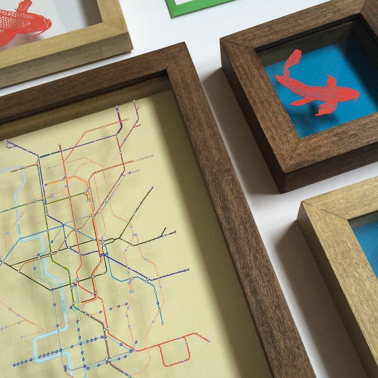 San Francisco Map Paper%0A Custom order with new dark oak stained frames shipped to San Francisco   D