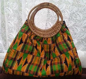 AFRICAN PRINT LARGE TOTE HANDBAG. TRIBAL PRINT ANKARA HAND BAG | eBay