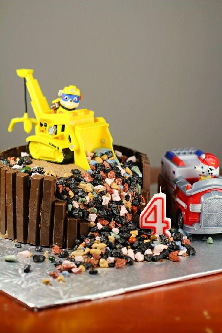 Paw Patrol Birthday Cake Receta Tortas de spiderman