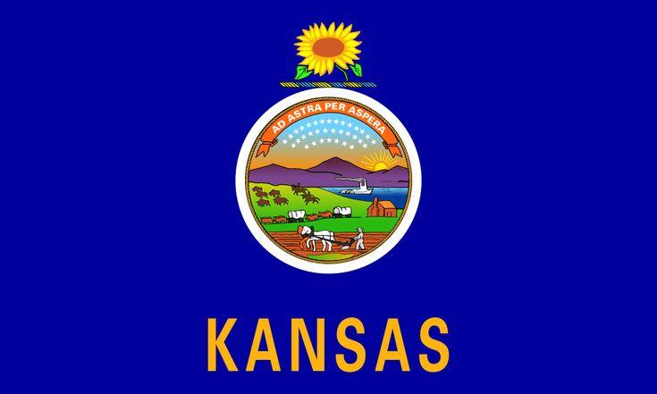 Kansas Flag colors - Kansas Flag meaning