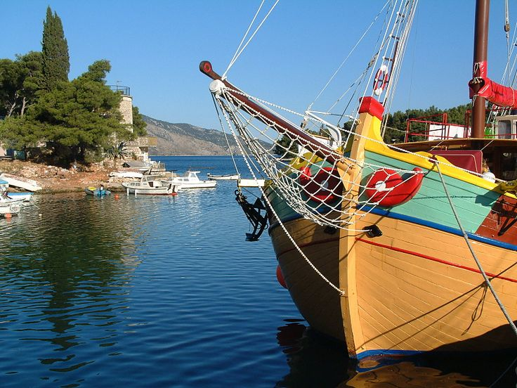 další den nás čeká Starigrad opět na ostrově Hvar