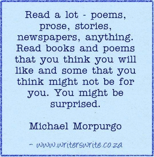 Quotable -Michael Morpurgo - Writers Write