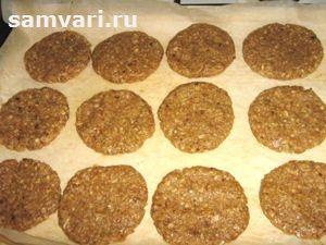 выпекаем овсяное печенье без сахара