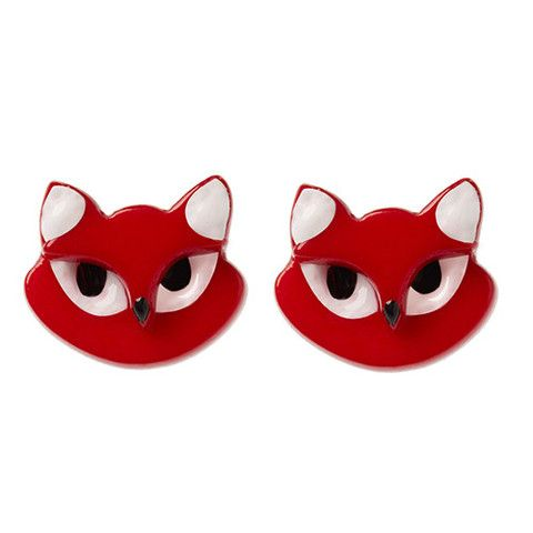 """Erstwilder Limited Edition Carla Cat Earrings. """"If only we ..."""