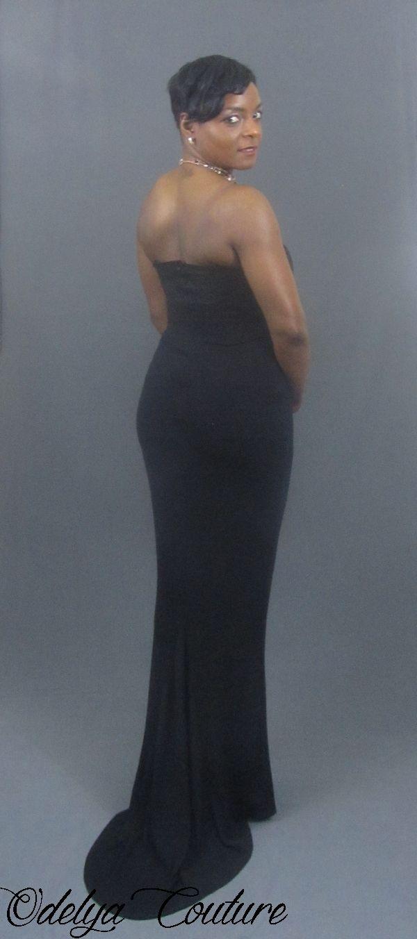 Robe noire bustier en maille, réalisée sur mesure.  #odelyacouture #robelongue #robelonguenoiredesoiree #robenoiredesoiree #robenoire #robedesoiree #eveninggown #blackdress #couture #confection #styliste #modeliste #surmesure #sewing #tailored #tailormade #longblackdress #eveningdress #handmade #blackeveningdress #blackeveninggown #fashion #paris #mode #frenchdesigner #couturière #creatricedemode