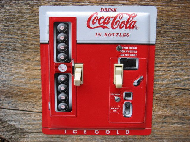 cheap soda vending machine