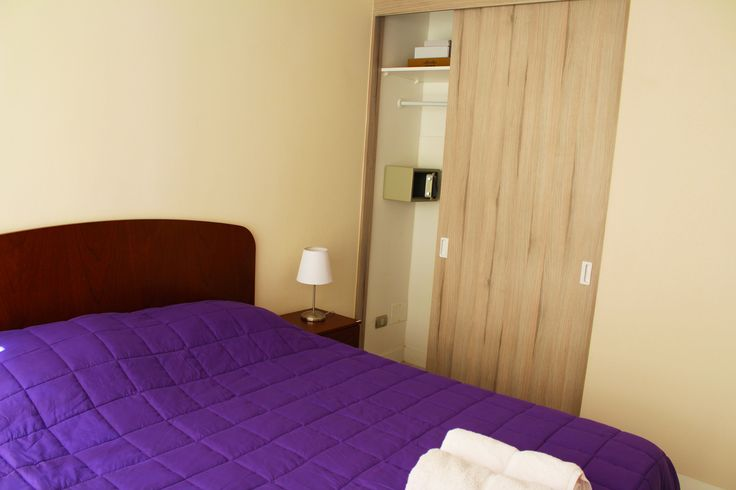 closet  with save  of the apartment we rent in Santiago de Chile www.internshipandtravel.cl o mail a info@internshipandtravel.cl