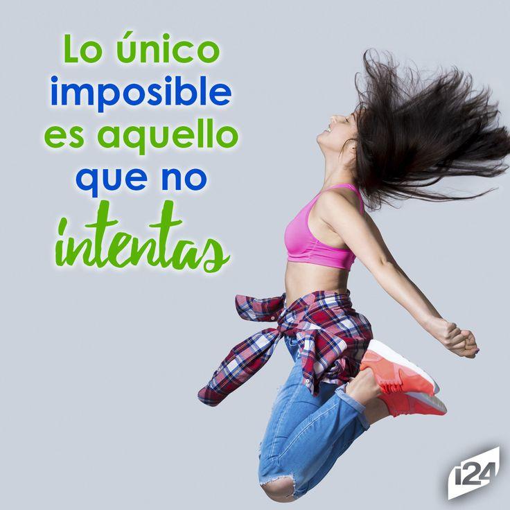 Nunca dejes de intentarlo #Frase #Motivación #Inspiración #Fitness
