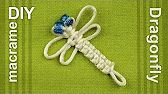 Micro Macrame Owl Key Chain 3 ♥DIY♥ - YouTube