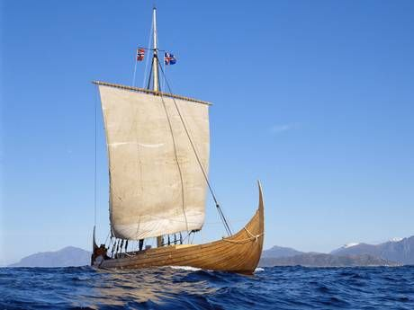 Not just the stuff of legend: Famed Viking 'sunstone' did exist, believe scientists - Archaeology - Science - The Independent ( This is so cool! I want one of these. It just amazes me human ingenuity. Can you imagine the first person discovering this and then trying to convince the fellow sailors that he could find the sun on a foggy day with a stone?!)