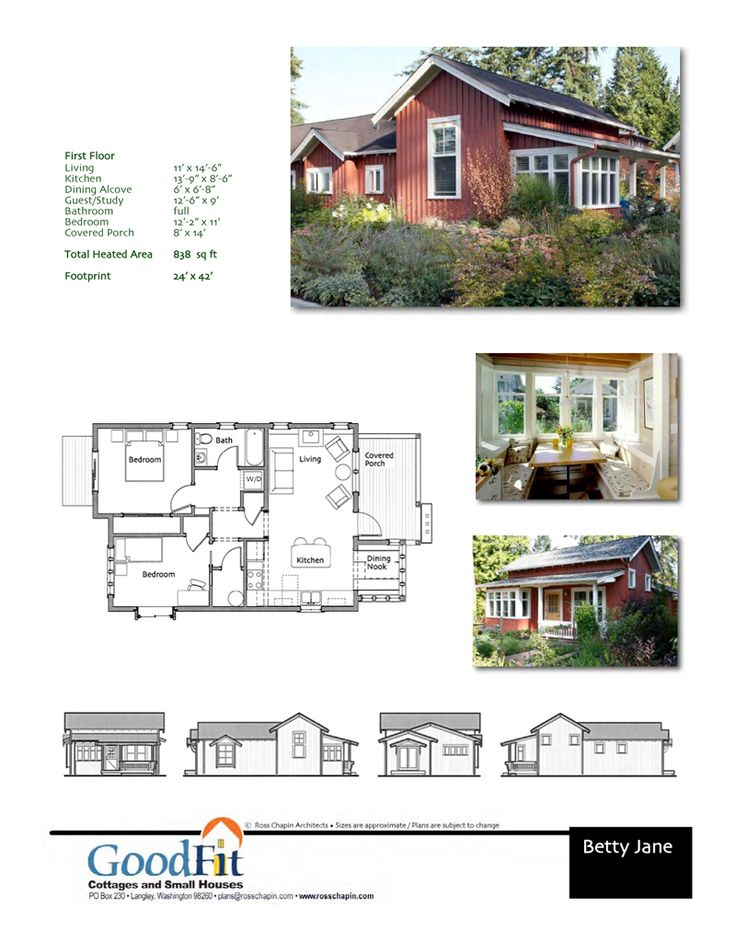 179 best Small House Plans images on Pinterest | Small house plans ...