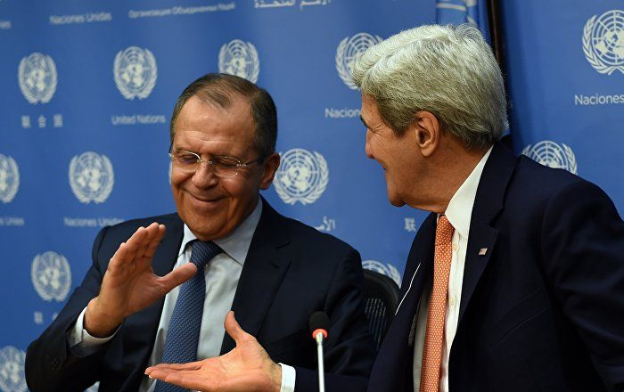 Russian FM Lavrov Holds Press Conference Following Meeting With Kerry