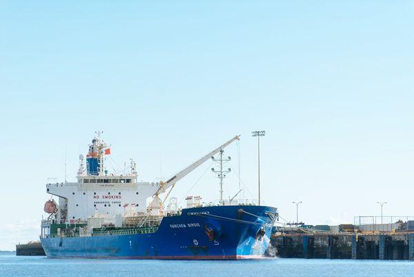 Cargo loading #ports #saintjohn