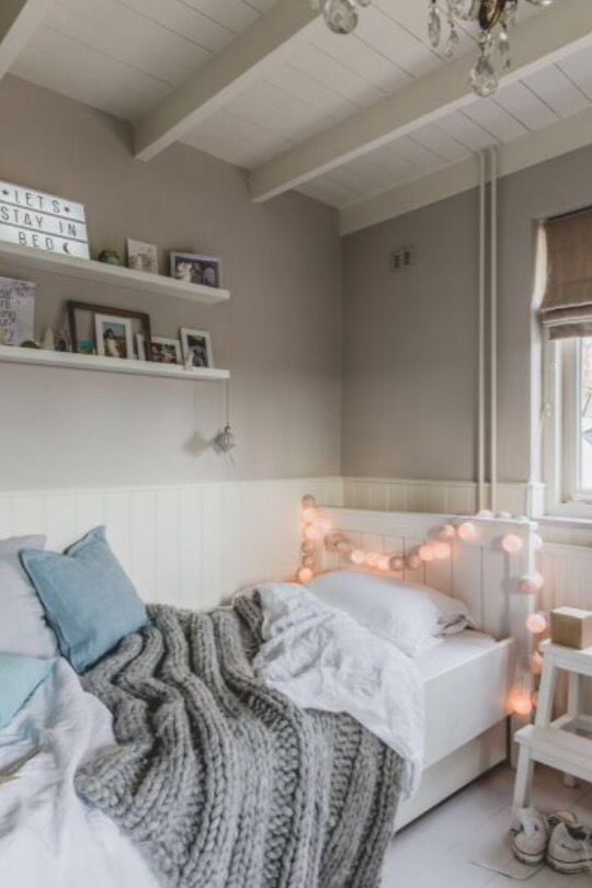 """This cosy girls bedroom is from our feature """"Merry Matters"""""""