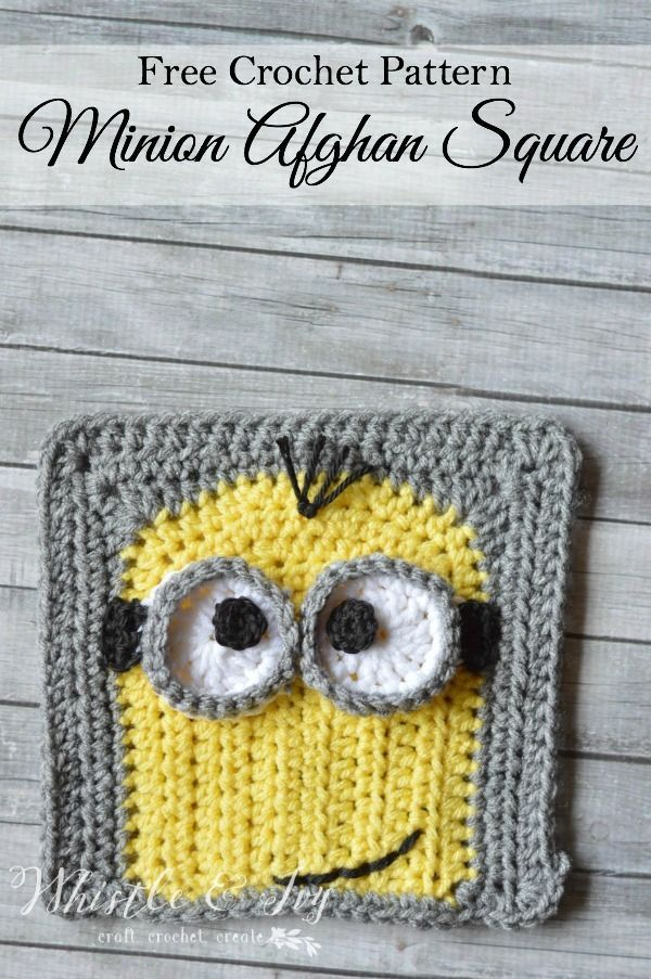 Free Crochet Pattern For Minion Scarf : 175 best images about Minions on Pinterest Perler beads ...