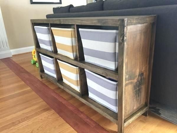 Storage Unit Home Cube Do It Yourself Projects From Ana White Bins Plastic