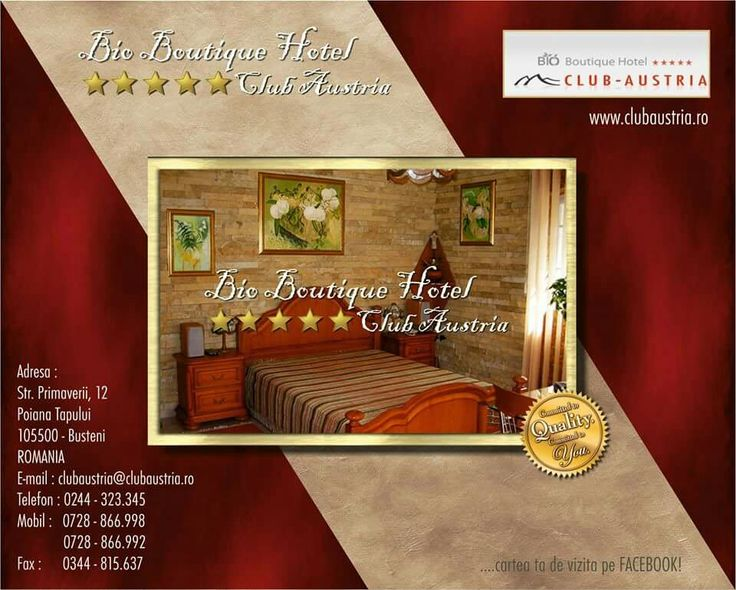 LUXURY HOTEL  / BUSTENI / ROMAMIA