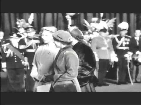The Queen meets Haile Selassie 1954