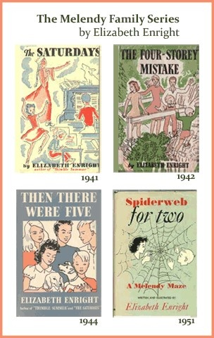 Elizabeth Enright - the Melendy Family stories -  some of my absolute favorite childhood books