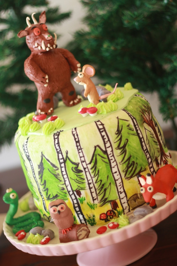 Mini Mayhem: The 4 birthday - The Gruffalo