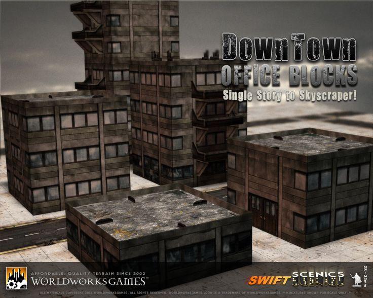 WorldWorksGames::Downtown: Office Blocks