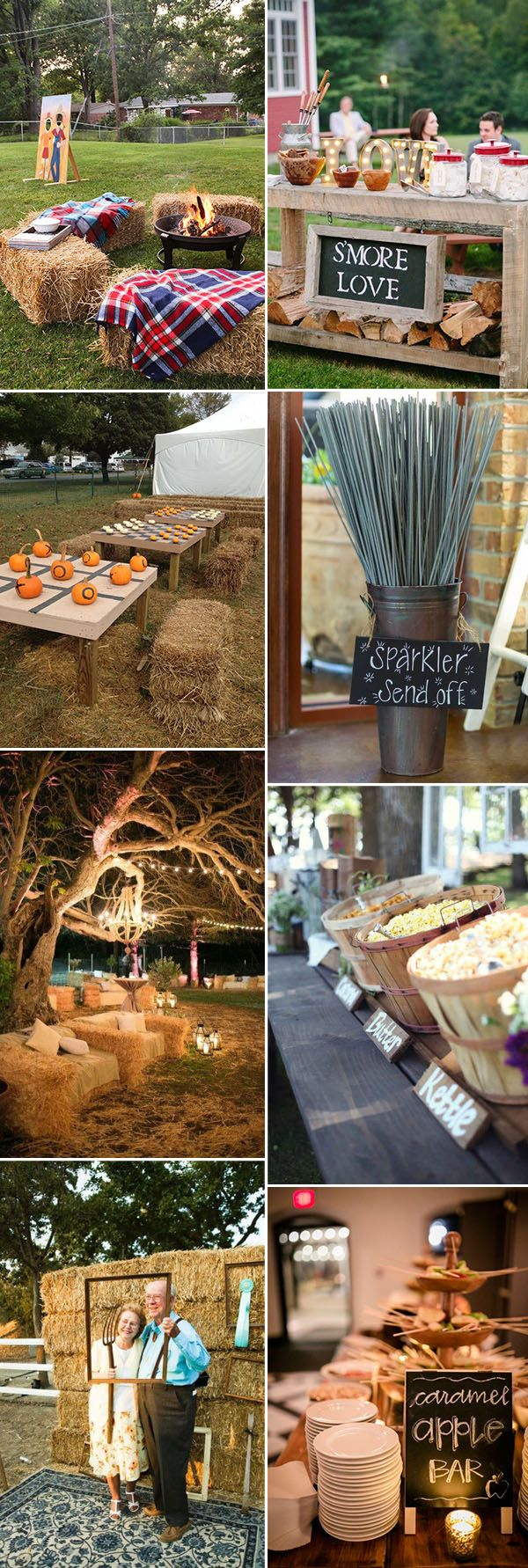 fun and interactive intimate fall wedding ideas