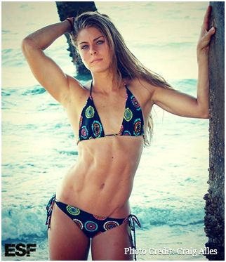 Erin Simmons: Top Fitness Model Who Trains Like An Athlete