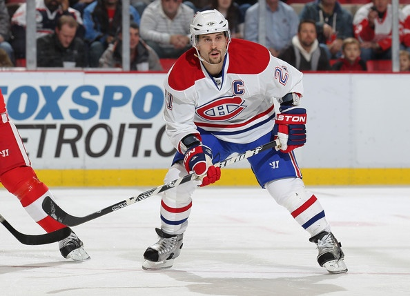 Brian Gionta Montreal Canadians