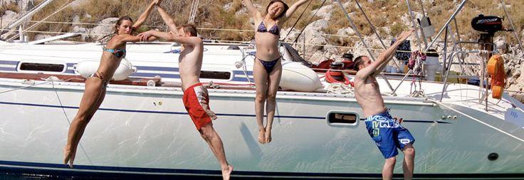 Half day sailing cruise to Kelyfos island from Kassandra #Halkidiki #Greece