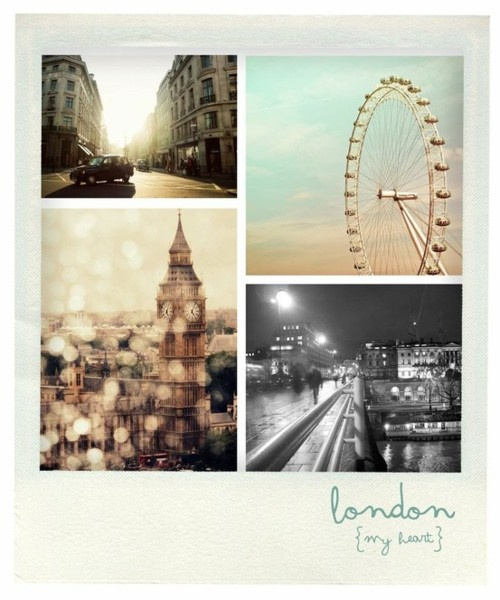 Oh, Lets go to London.