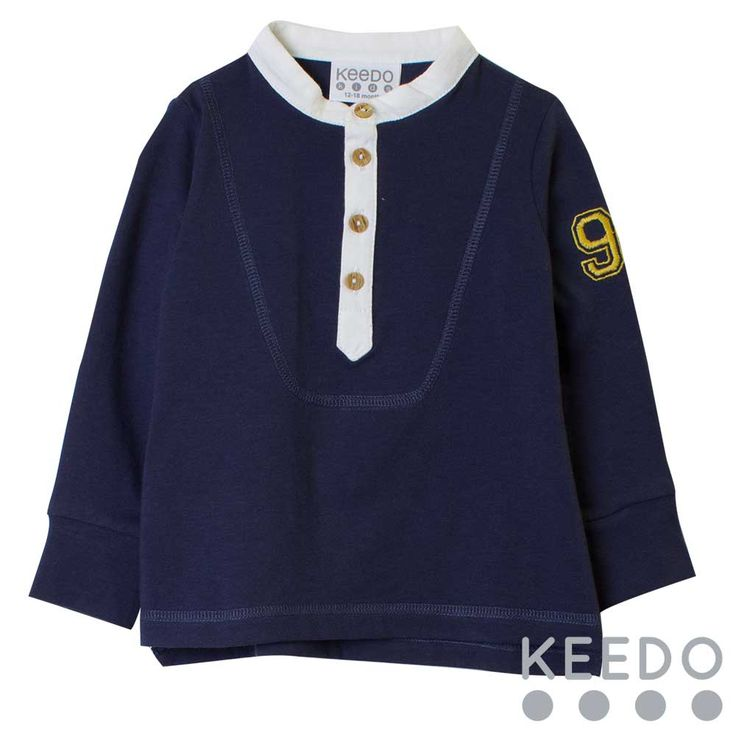 Mood Henley (9mths to 5 yrs)   Click to enlarge    Product Code: 427205    R299.00     Available Options  * Colour: --- Please Select ---  Mood Indigo     * Size: --- Please Select ---  9-12 months  12-18 months  18-24 Months  Extra Extra Small  Extra Small  Small  Medium       Qty:               There is nothing simple about this stylish cotton t-shirt with button collar detail. Designed and manufactured in Cape Town, South Africa Pre-shrunk cotton is fully machine washable and tumble…