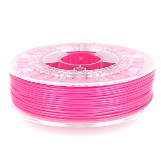 ColorFabb Fluorescent Pink PLA filament is designed to work with a wide range of 3D Printers. ColorFabb is available in a wide range of colors. 100% biodegradable, extremely high-quality, imported from Holland. Available in 1.75 mm and 2.85 mm sizes.  #3DPrinting #Filament #Ultimaker #Lulzbot #Afinia #DeltaMaker #DremelIdeaBuilder #FlashForge #Leapfrog #MakerBot #Printrbot #FluorescentPink