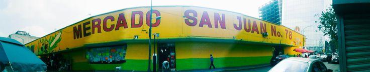 Mercado de San Juan en Cuauhtémoc, Federal District