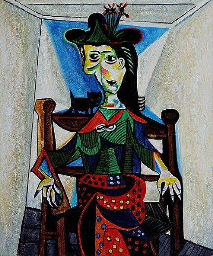 A világ legdrágább festményei   Pablo Picasso: Dora Maar macskával – 111,5 millió dollár