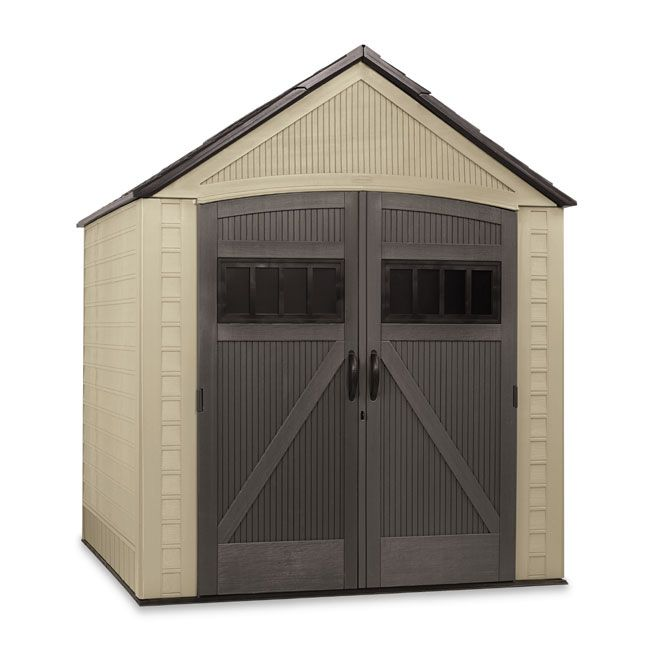 """Shed - 7' x 7' """"Roughneck"""" Garden Shed"""