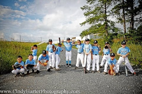 thought of you, what a cute idea for team pics! :) - Inbox - Yahoo! Mail